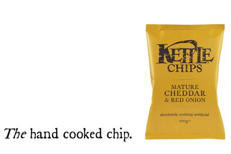 Kettle Chips 'the hand cooked chip' by Isobel