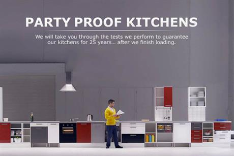 Ikea 'party proof kitchens' by Mother
