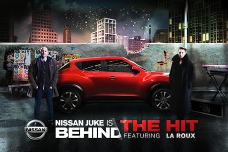 Nissan 'behind the hit' by Digitas London