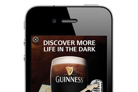 Guiness 'More life in the dark' by Tullo Marshall Warren