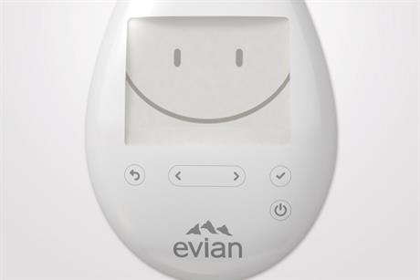 Evian 'smart drop project' by BETC Paris