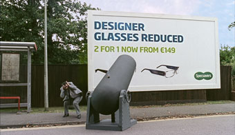 Specsavers 'comedy capers' by Specsavers Creative