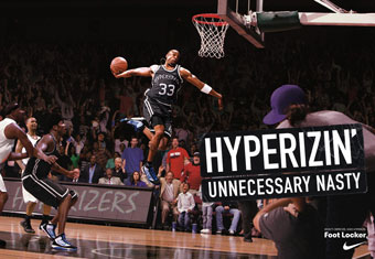Nike 'hyperize' by Wieden & Kennedy Portland