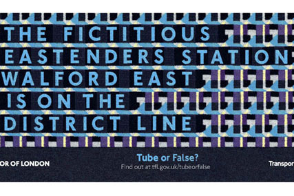 TFL 'true or false?' by M&C Saatchi