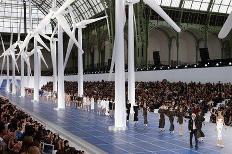 On trend: Strong French fashion statement belies industry's difficulties (photo:Chanel)