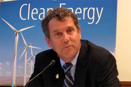 Pushing for offshore: Ohio senator Sherrod Brown