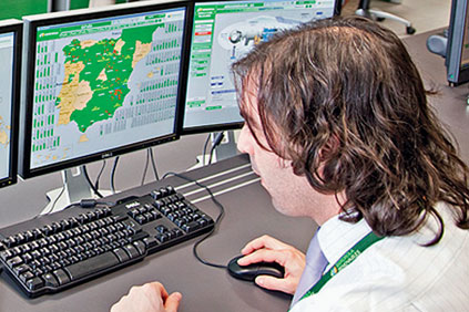 Iberdrola&#39;s national control centre in Toledo