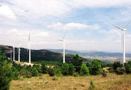 Spain's Sierra de Mira wind farm, Cuenca, Castile-La Mancha wind farm contributed to the country's 43,000GW/h production