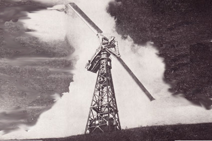 The 1.25MW Smith-Putnam wind turbine, the first 1MW+ design