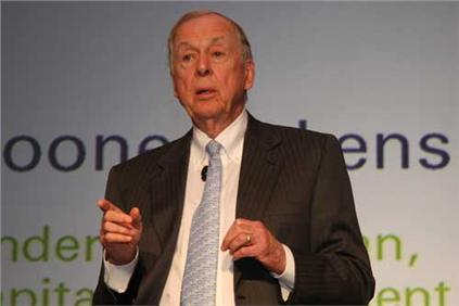 Texas oil man T. Boone Pickens