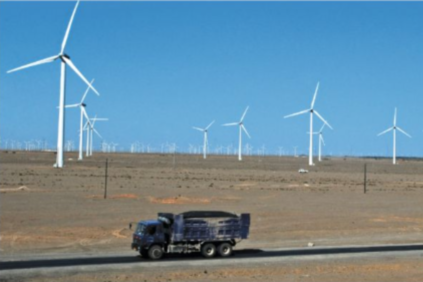 China is expected to continue leading the world in wind power development over the next two years