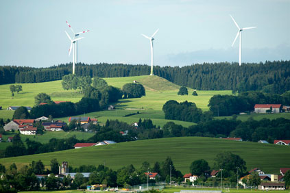 State of growth: New wind-power installations in Germany grew by 26% in the first half of 2012, with southern states starting to embrace wind (photo: Siemens)