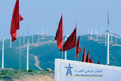 Flagship...Morocco&#39;s Dahr Saadane wind farm