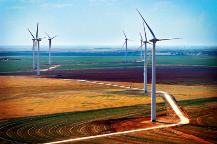 The Roscoe project in Texas will be dwarfed by the Alta Wind Energy Center