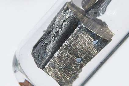 Neodymium. China accounts for 95% of global rare earth metal production