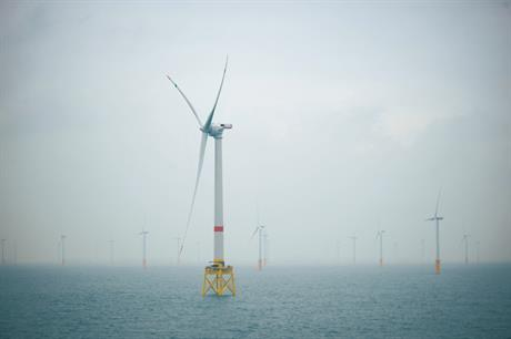 Alstom's 6MW turbine has been installed off Belgium