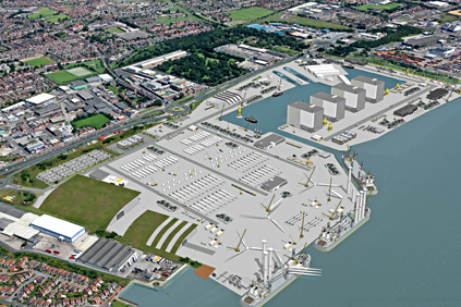 Renderings of Siemens' Hull facility