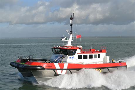 South Boats IOW is delivering four south catamaran vessels to MPI Workboats