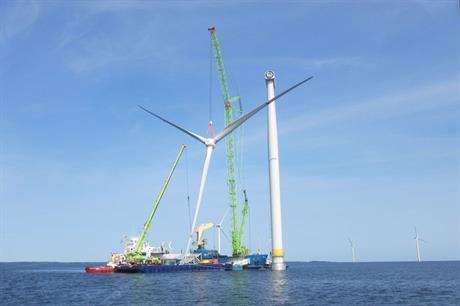 Moventas carrying out refurbishment of drivetrains at Vindpark Vänern wind farm, Sweden