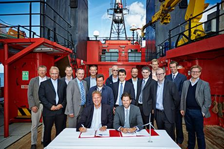 Siemens and Esvagt sign the agreement