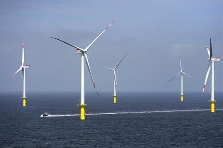 The project uses Siemens 3.6MW turbines