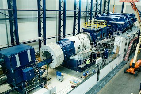Giant new bench will test Vestas 8MW offshore turbine