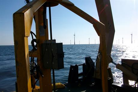 Coastline Surveys awarded contract by East Anglia Offshore Wind