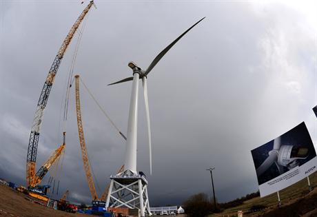 Alstom's Haliade is set to be the majority turbine in France's offshore sector