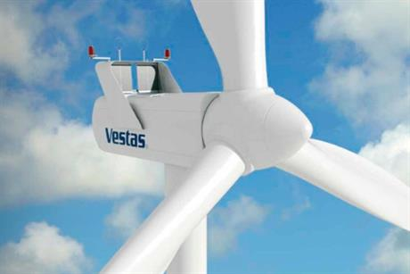 The Vestas V80 2MW turbine will be used on the Kelburn project