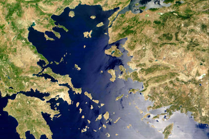 The Aegean... Iberdrola is planning a 1.8 billion link up between Lesbos and Chios