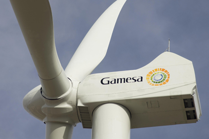 Gamesa's G136 4.5MW turbine is designed for low wind speed sites