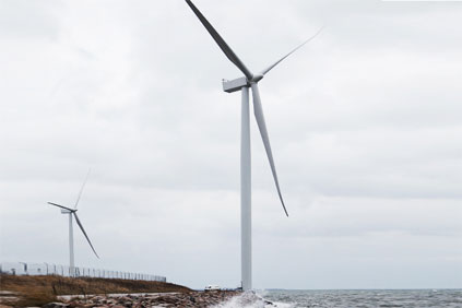 The SWT 3.6 turbine was upgraded last year with 120-metre blades