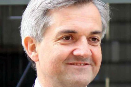 UK energy secretary Chris Huhne...will attack wind critics