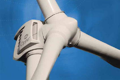 Clippers 2.5MW turbine will be used on the Milford project