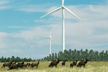 Suzlon turbines such as the S82 will be used exclusively on any wind farms to be developed out of the deal