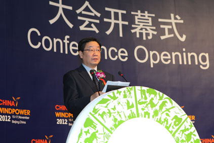 Liu Qi: Wind to be China's third largest energy source