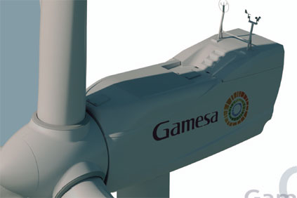 The project will use Gamesa's G52 850kW turbine