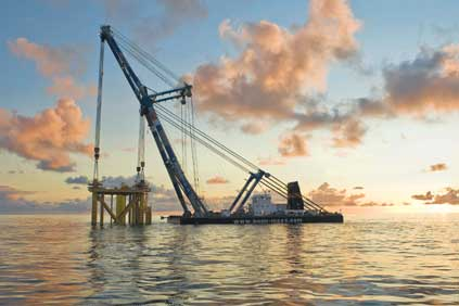 The factory will build monopiles for offshore foundations in the North Sea