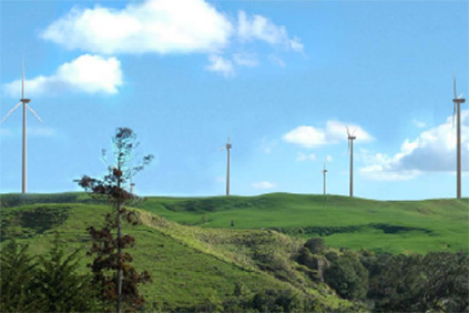 How the Hauāuru mā raki wind farm might look