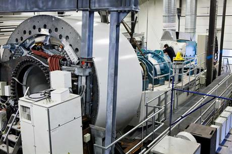 Siemens generator test facilites at Brande