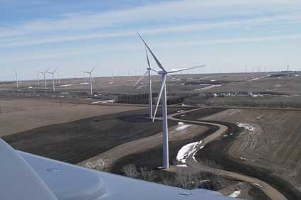 Google has invested in the 120MW Ashtabula II wind farm in North Dakota 