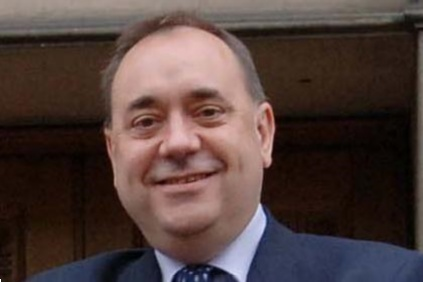"Scottish first minister Alex Salmond... ""analysts misunderstood Scotland's renewables program"""