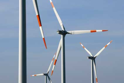 Alerion&#39;s 34 MW Ordona wind farm in Apulia, inaugurated last year, is pictured here