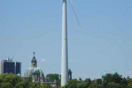 Ontario... only 80MW is expected to come online in 2012