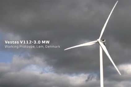 The Simo project will use Vestas' V112 3MW turbine