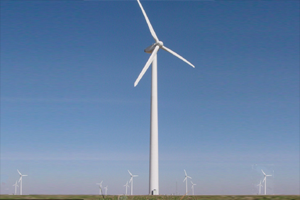 MHI's MWT 1.0 turbine will be used on the Mountain View IV project