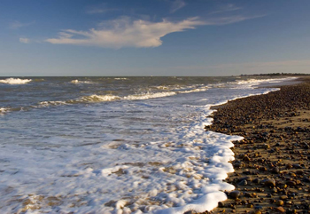 The East Anglia One project is proposed for the Suffolk (pictured) and Norfolk coasts