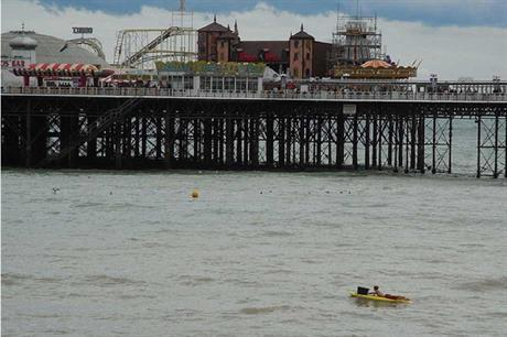 Rampion will only affect wave heights in Brighton by 3% (pic Phil Hatchard)