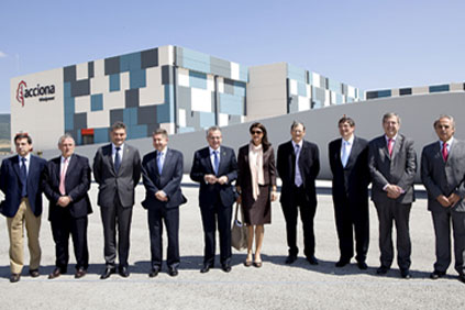Acciona opens blade factory in Lumbier