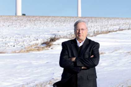 Juhl Wind chairman Dan Juhl 